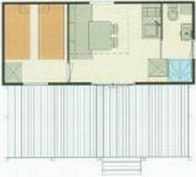 plan Location chalet cover 2/3 pers.