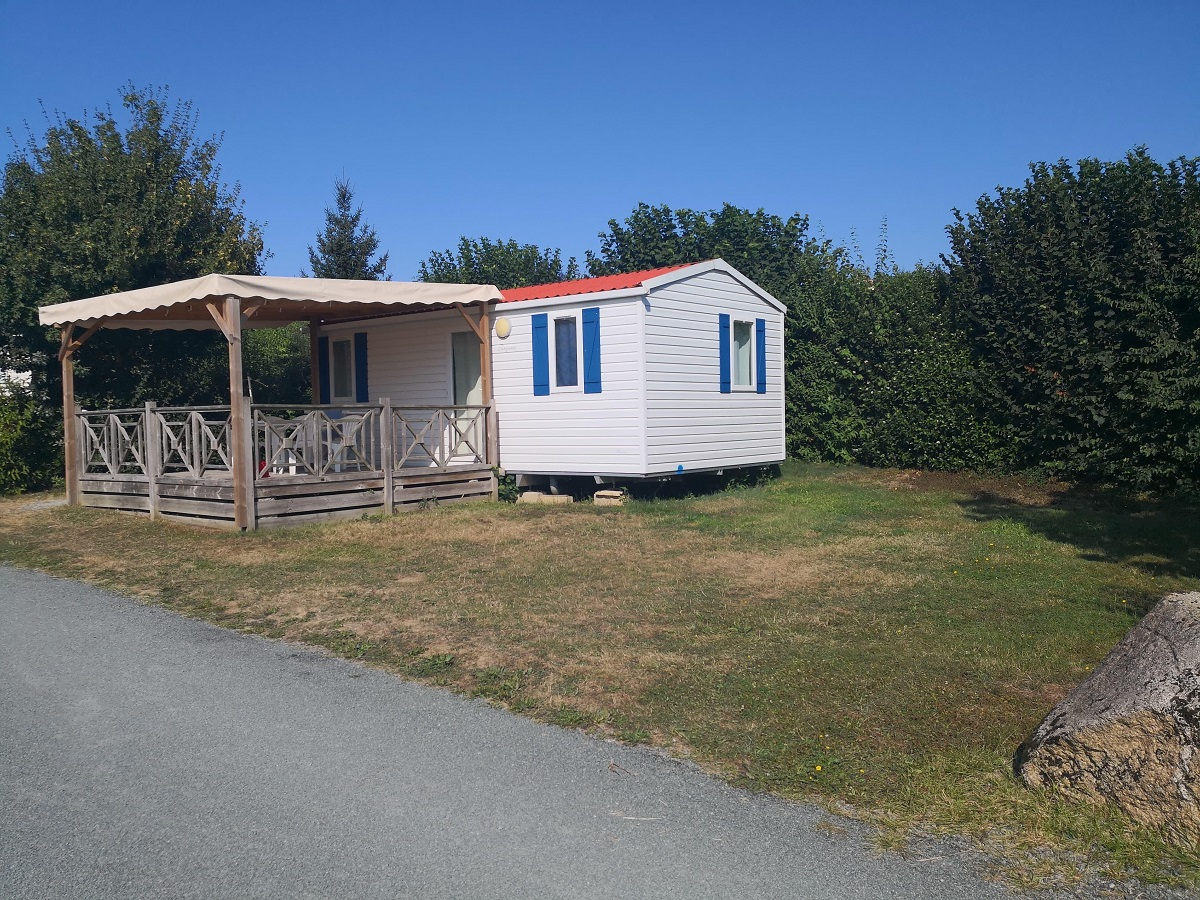 Location Mobil home Confort 2 Ch.  4/5 Pers. 25m²
