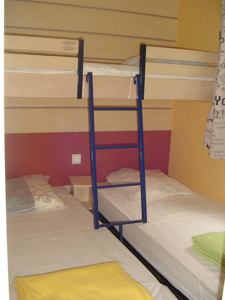 Mobil-home 3 chambres 6/9 personnes Super Titania 30m²