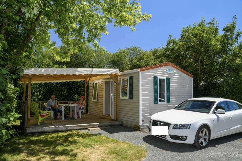 Location Mobil home Confort 1 Ch.  2 Pers.
