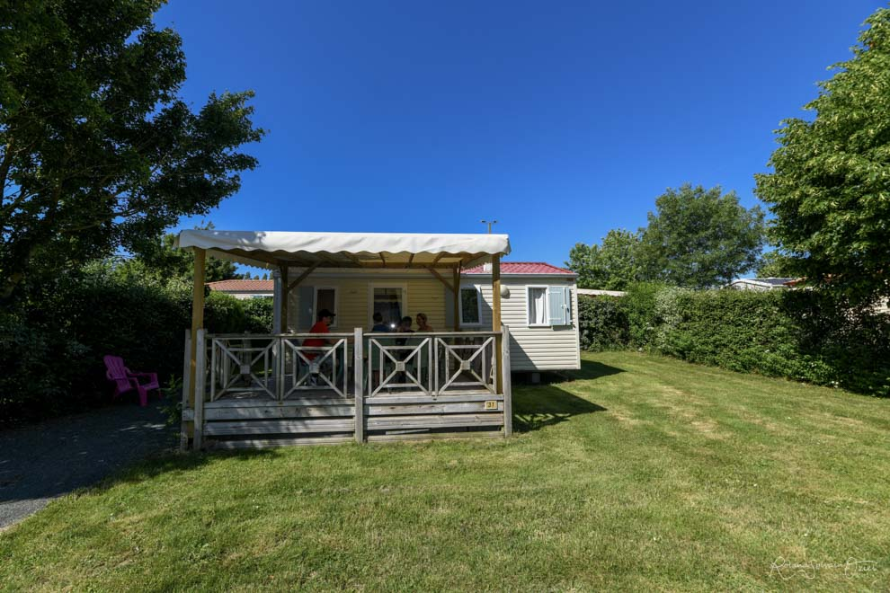 Location Mobil home Confort+ 2 Ch. 4/5 Pers. 27/30m²