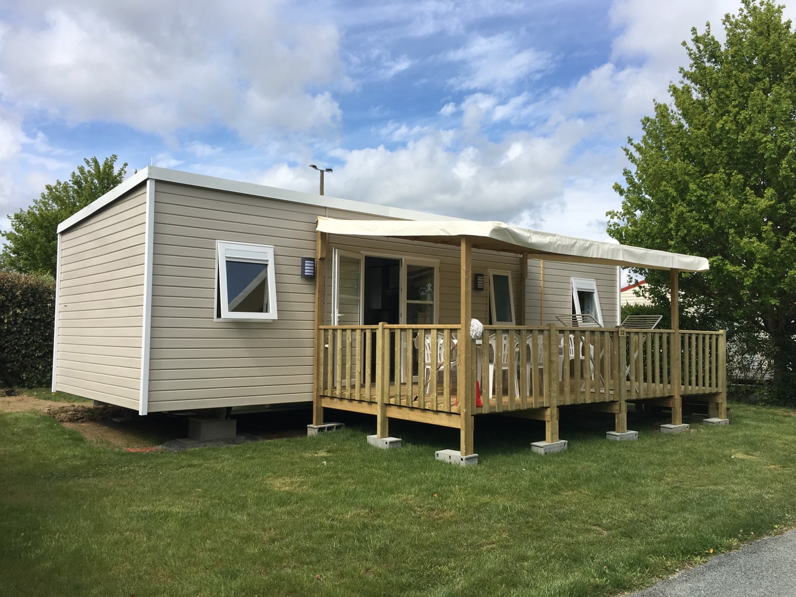 Mobil home Privilège+ 4 Ch. 8 Pers. 37m²
