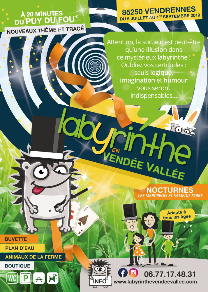 Labyrinthe de Vendrennes
