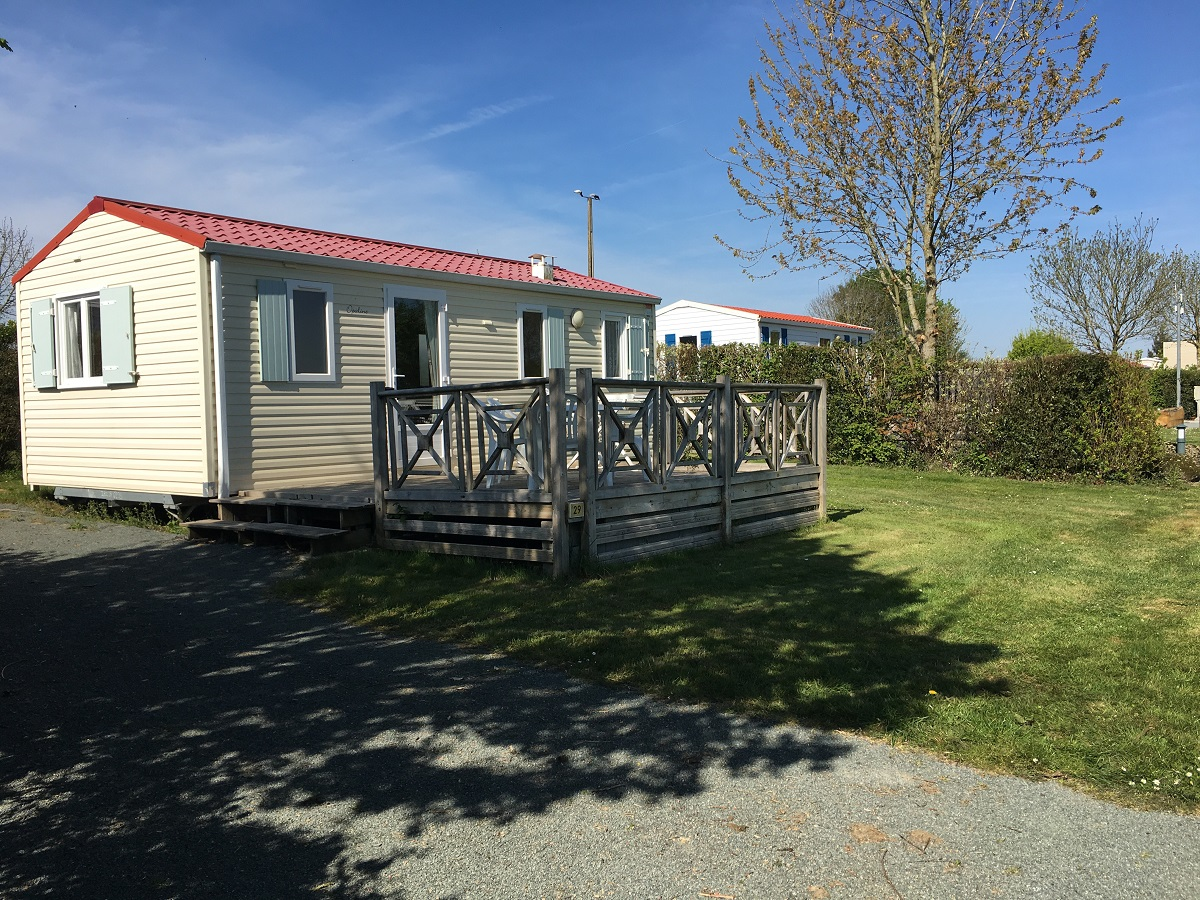 Mobil home Confort+ 2 Ch. 4/5 Pers. 27/30m²