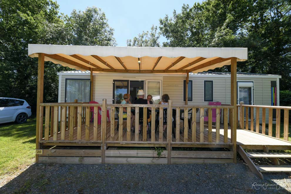 Location Mobil home Luxe 2 Ch.  4/6 Pers. 40m²