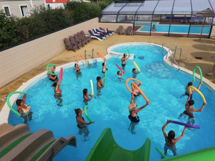 La piscine du camping Location de salle + hébergement Puy du Fou