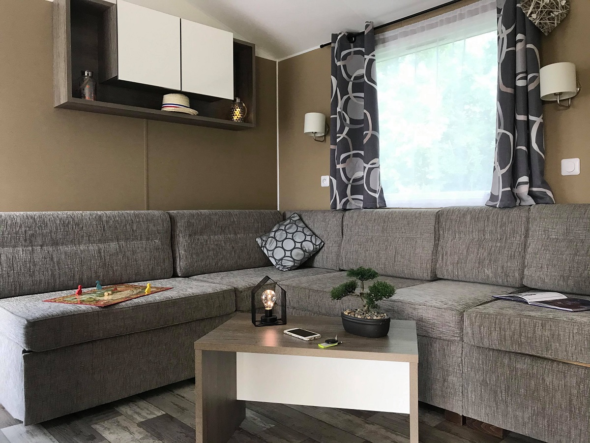 Mobil home Luxe 2 Ch. – 40m² – 4/6 pers.