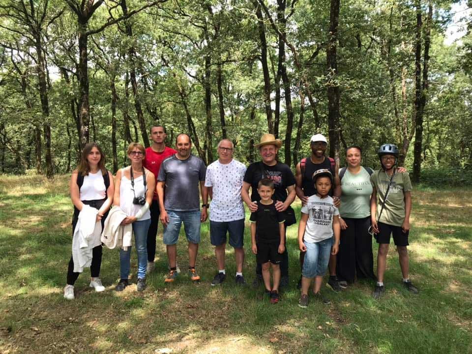 randonnées organisées autour du camping de la motte